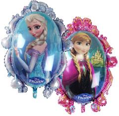 """Фигура """"Зеркало с Анна и Эльзой"""""""