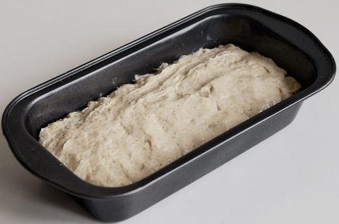 Тесто без глютена с добавками - кукурузная мука, рисовая мука, льняная мука