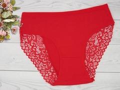 6102-2 трусы женские, красные