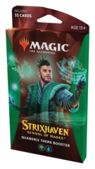 Тематический бустер выпуска «Strixhaven: School of Mages» (факультет «Quandrix»)
