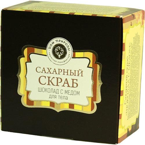 Скраб сахарный Шоколад с медом