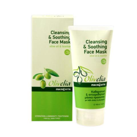 Очищающая и снимающая раздражение маска для лица