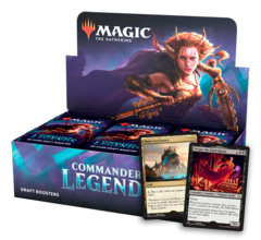 Дисплей бустеров «Commander Legends» (на английском)