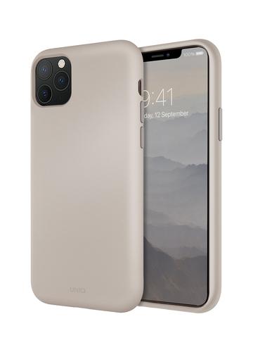 Чехол Uniq LINO для iPhone 11 Pro | бежевый микрофибра