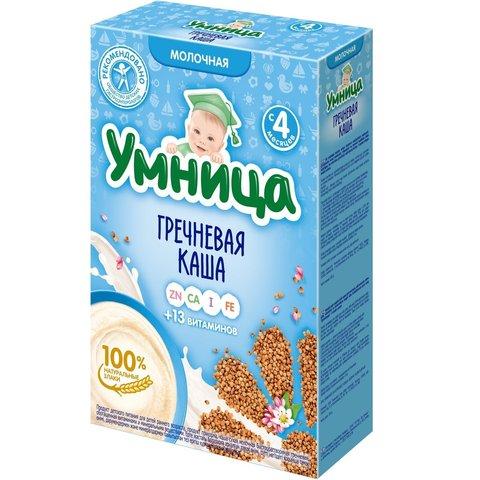 Каша Умница гречневая молочная 4+ мес