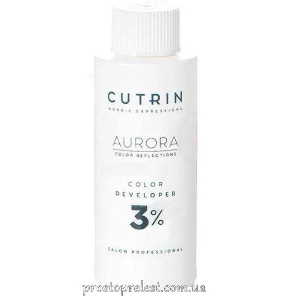 Cutrin Aurora Color Developer - Окисник для волосся 3% 1