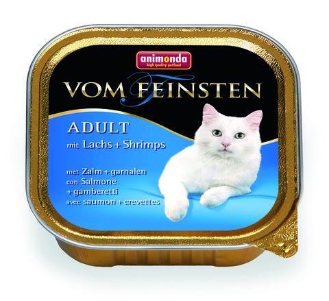 Консервы Animonda Vom Feinsten Adult с лососем и креветками для взрослых кошек