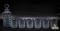 Набор для виски Diamond Bohemia, 1 штоф и 6 стаканов, фото 1