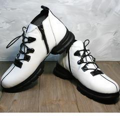 Осенние ботинки женские Ripka 146White