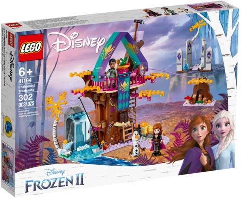 LEGO Disney Princess: Заколдованный домик на дереве 41164 — Enchanted Treehouse — Лего Принцессы Диснея