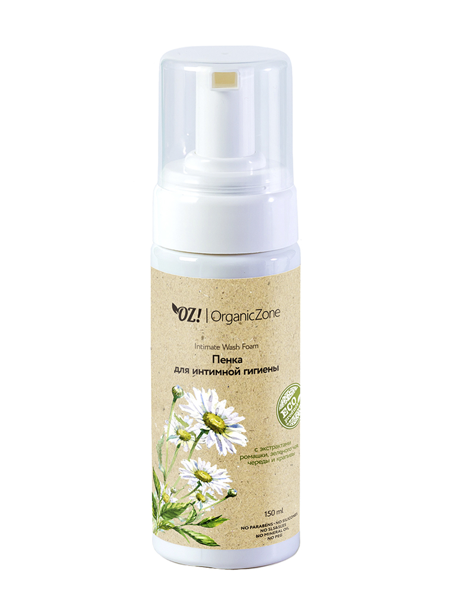 Органическая пенка для Интимной гигиены OrganicZone