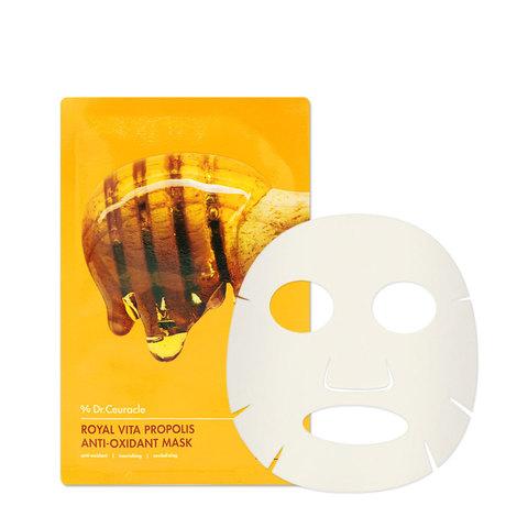 Тканевая Маска С Прополисом DR. CEURACLE Royal Vita Propolis Anti-Oxidant Mask