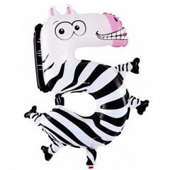 Животные (зебра) 91 см