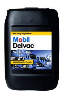 152162  MOBIL DELVAC SUPER 1400E 15W-40 минеральное масло для коммерческого транспорта 20 Литров купить на сайте официального дилера Ht-oil.ru