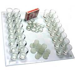 Шахматы со стопками, шашки, карты, фото 1