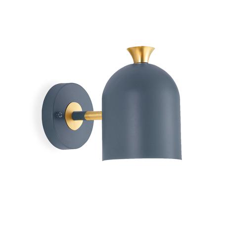Настенный светильник Hood by Light Room (синий)