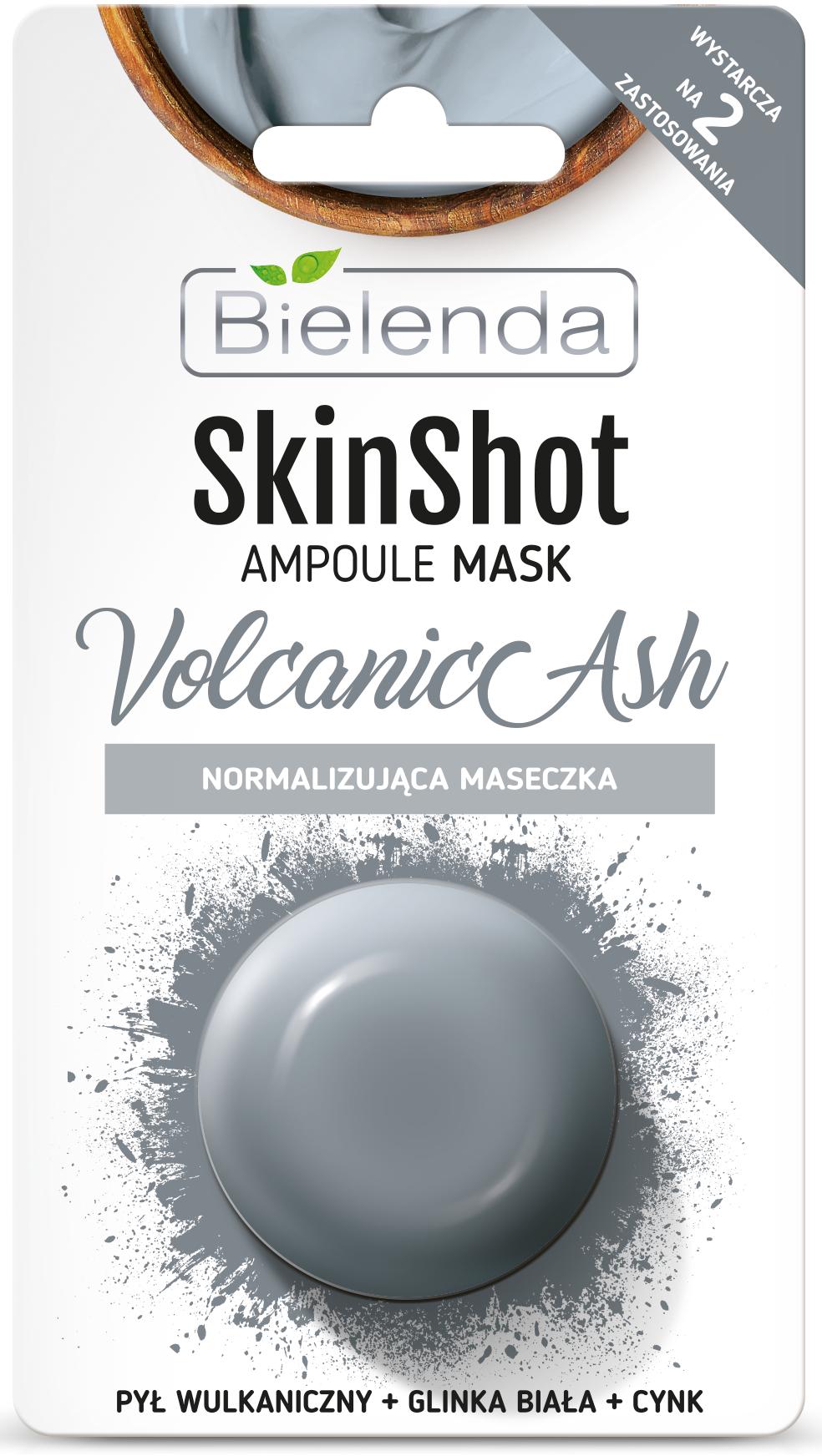 SKIN SHOT Нормализующая маска, Вулканичный пепел, 8 г