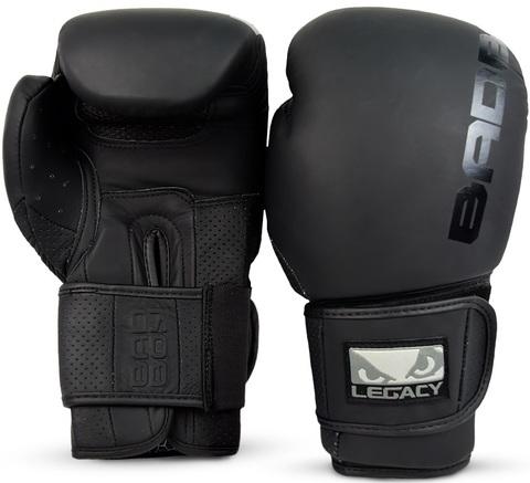 Перчатки для бокса Bad Boy Legacy Prime Boxing Gloves Black/Black