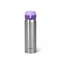 9821 FISSMAN Термокружка 430мл, цвет Фиолетовый (нерж.сталь)