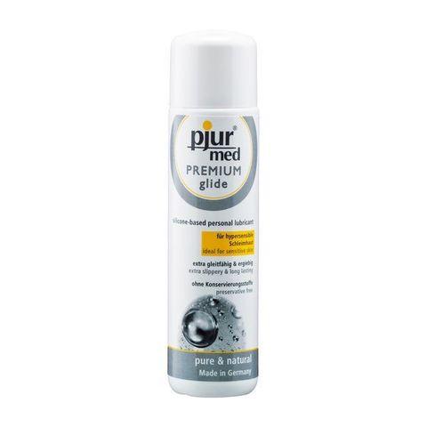 Pjur®MED Premium glide, 100 ml Гипоаллергенный силиконовый лубрикант