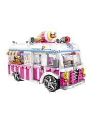 Конструктор LOZ mini Машина для мороженого 1244 детали NO. 1112 Ice Cream Car MiniBlock