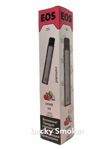 EOS E-Stick Pemium Plus (1200 Затяжек) Lychee ice
