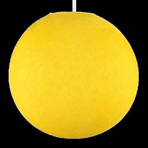 Хлопковый шар - подвес Лимон