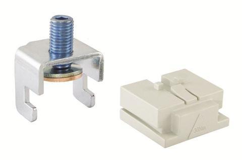 Терминал для прямого подключения ППВР 1-3  к плоским шинам 10 мм  TDM