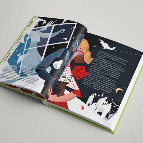 Альбом «Красная шапочка в стиле поп-арт», «Дюймовочка в стиле Марка Шагала» и  «Снежная королева в стиле Пабло Пикассо»