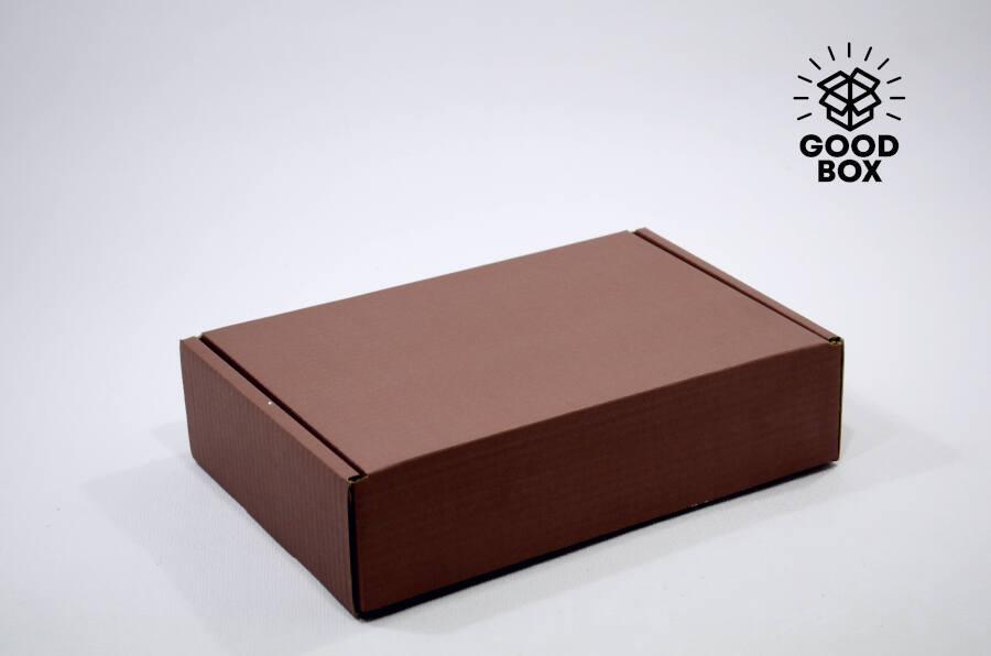 Подарочная коробка коричневая купить в Алматы
