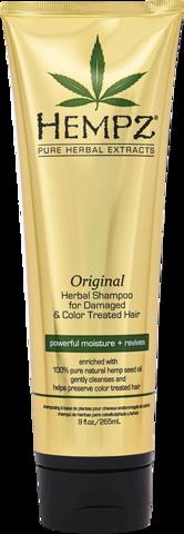 Шампунь растительный Оригинальный сильной степени увлажнения для поврежденных волос / Hempz Original Herbal Shampoo For Damaged & Color Treated Hair