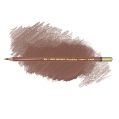 Карандаш художественный акварельный MONDELUZ, цвет 30 красновато-коричневый