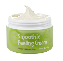 Отшелушивающий крем с киви , HOLIKA HOLIKA, Smoothie Peeling Cream Sunshine Golden Kiwi, 75мл
