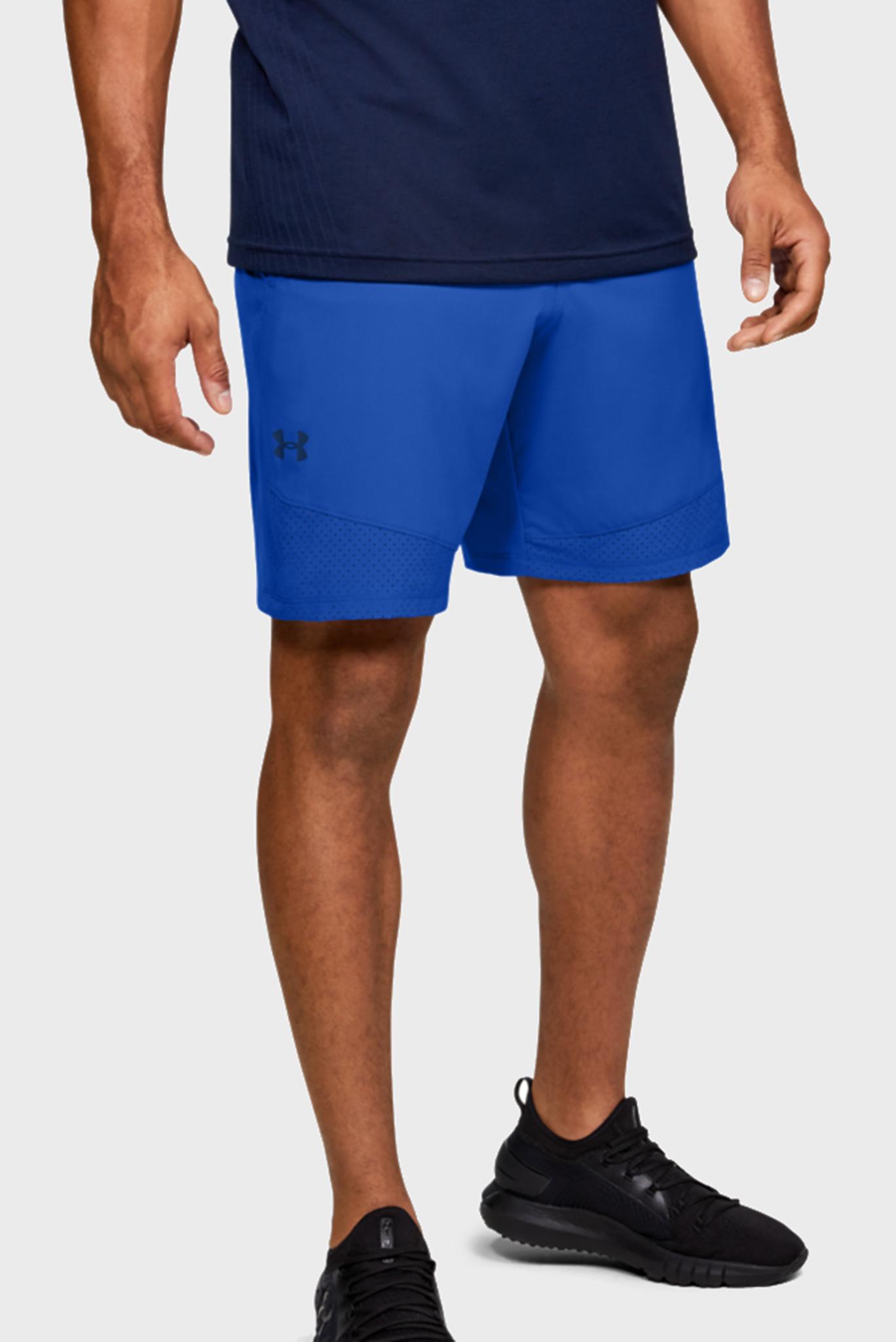 Мужские синие спортивные шорты Vanish Woven Shorts Under Armour