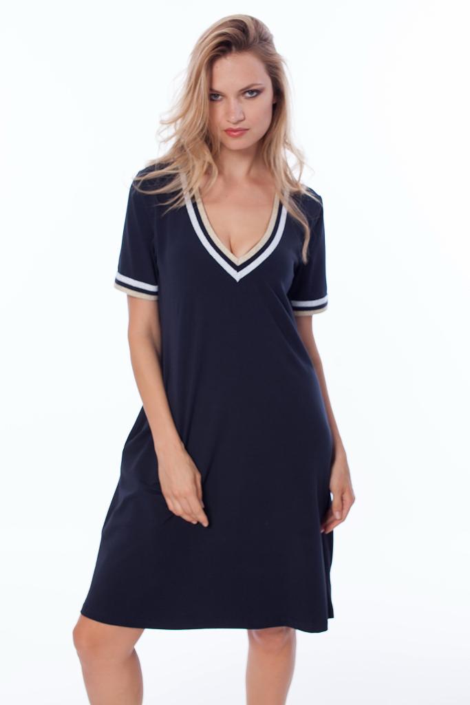 Платье с короткими рукавами Luna di Giorno