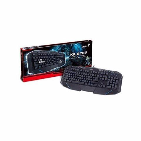 Klaviatura \ Клавиатура \ Keyboard  Gaming Keyboard Genius KB-G265 LED Backlight