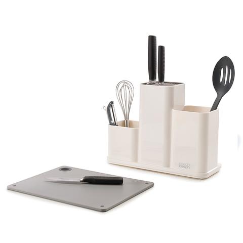 Органайзер для кухонной утвари настольный CounterStore белый