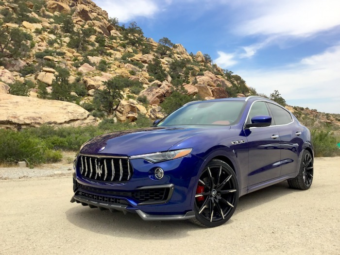 Обвес Larte Design для Maserati Levante