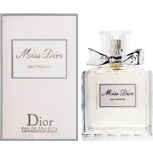 Christian Dior: Miss Dior Eau Fraiche женская туалетная вода edt, 50мл