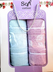 Dəsmal dəsti \ Набор полотенец \ Towel set Soft Cotton 2