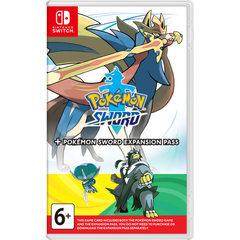 Игра Nintendo Pokemon Sword + Expansion Pass для Nintendo Switch