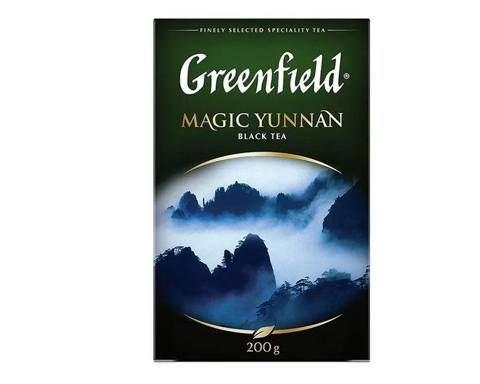 купить Чай черный листовой Greenfield Magic Yunnan, 200 г