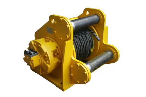 Гидравлическая лебедка ISYJ67-400-70-33-ZPL для укладки трубопроводов