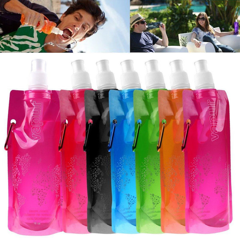 Для отдыха/путешествий Складная бутылка для воды Vapur bottle.jpg