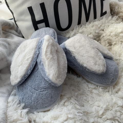 Тапочки Bunny /blue/ 38-39 (на 37)