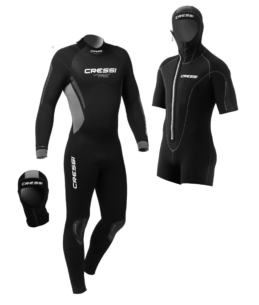 Man wetsuit Cressi Fast 7 mm