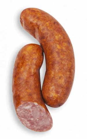 Белорусские колбаски полукопченые