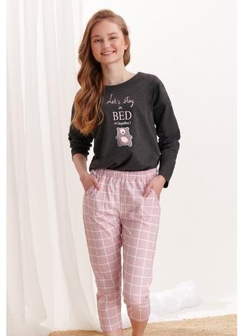 Пижама подростковая со штанами TARO (2333 S20/21 MOLLY)