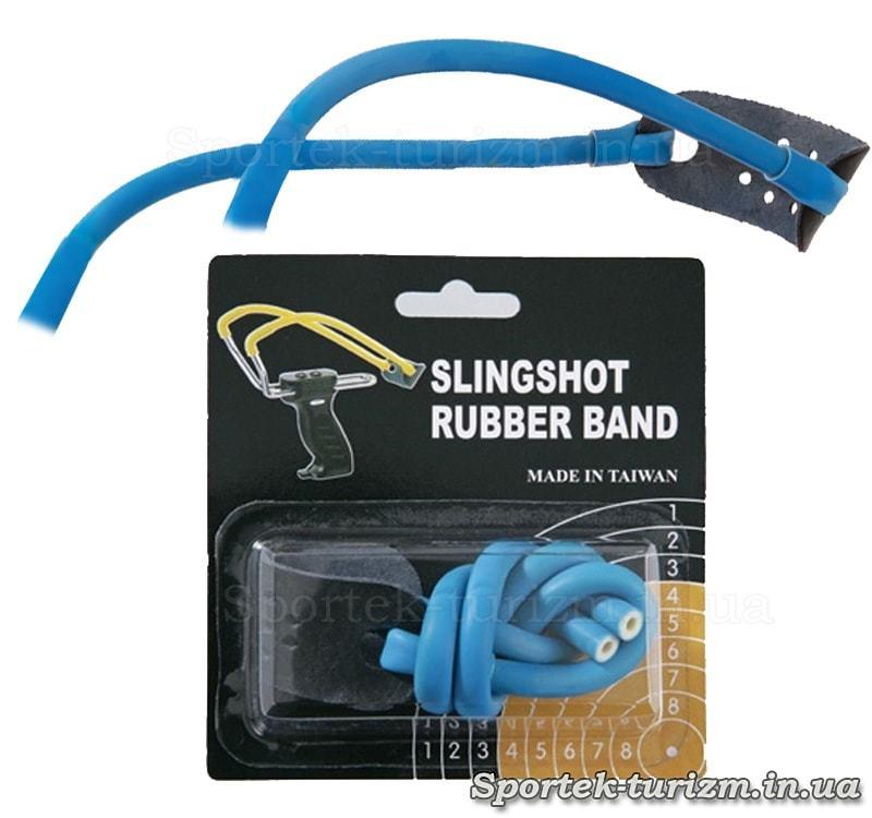 Гумка синього кольору для рогаток Man Kung MK-TR-BL