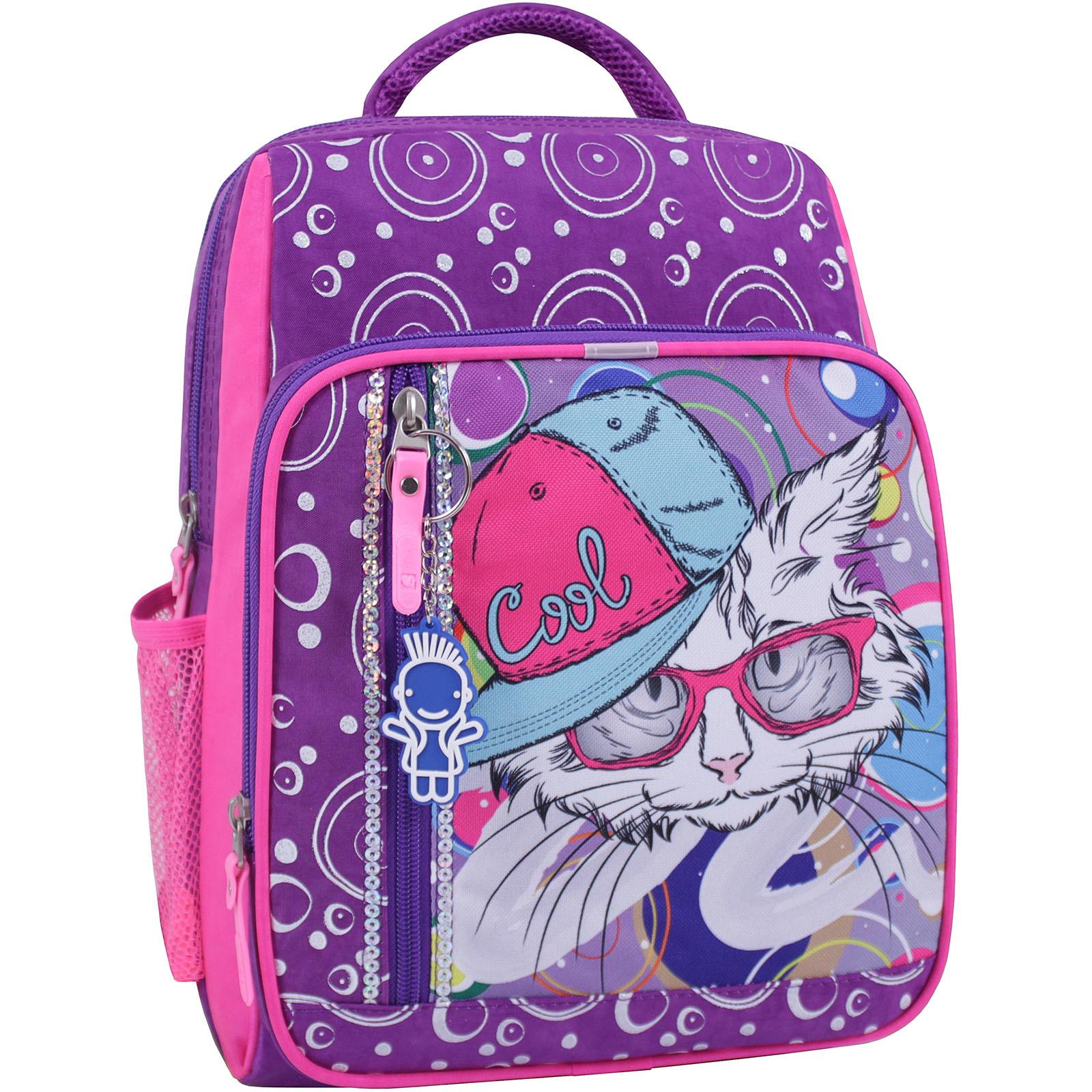 Школьные рюкзаки Рюкзак школьный Bagland Школьник 8 л. фиолетовый 501 (0012870) IMG_1069_суб.501_.JPG